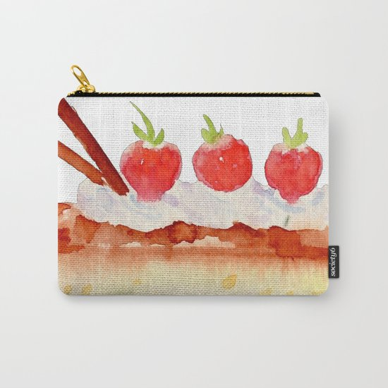 Cheese Cake Carry-All Pouch