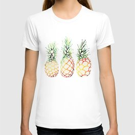 Burlap Pineapples T-shirt