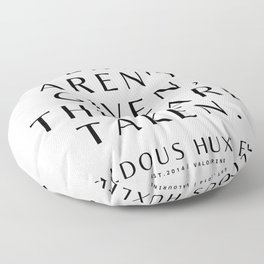 39    Aldous Huxley Quotes 200905 The Author Of Brave New World Literature Literary Writing Writer Floor Pillow