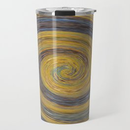 Swirl 02 - Colors of Rust / RostArt Travel Mug