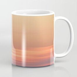 Abstract Color Blend Ocean Sunset Landscape Photograph Coffee Mug