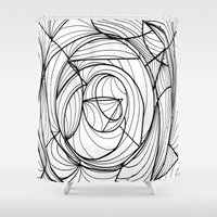 deco Shower Curtains featuring Deco by GiovZz.