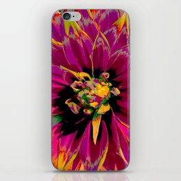 "Extreme Dahlia ""Ketchup & Mustard"" iPhone Skin"