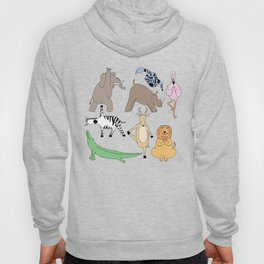 safari animal yoga Hoody