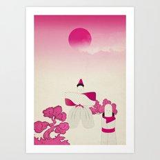 m a d e i n j a p a n # 1 Art Print