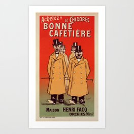 Reproduction French Vintage Poster Art Print
