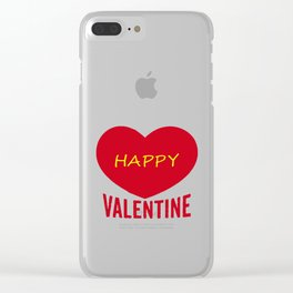 Valentie Clear iPhone Case