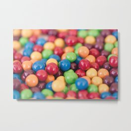 Sweet temptation - Macro Photography Metal Print
