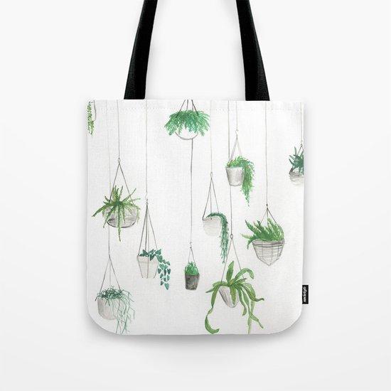 Urban Greenery: Part 1 Tote Bag