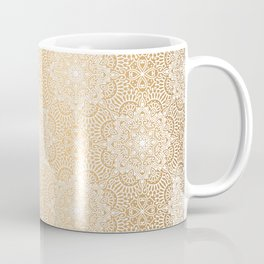Gold Mandala 18 Coffee Mug