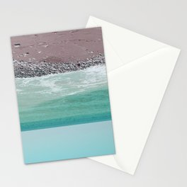 pacific ocean Stationery Cards