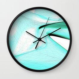 Curvature & Nodes Wall Clock