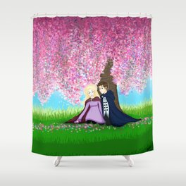 Sophie and Fitz Shower Curtain