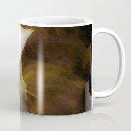 Single Dogwood Flower Sepia Coffee Mug