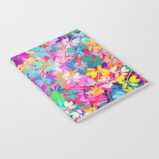 Floral abstract(47). Notebook