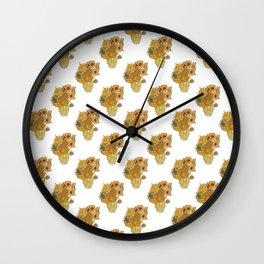 Sunflowers of Van Gogh Wall Clock