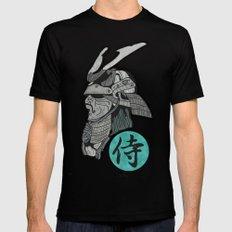 Samurai X-LARGE Black Mens Fitted Tee