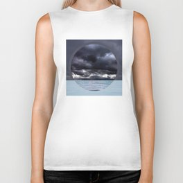Calm Tempest Horizon - Color Biker Tank