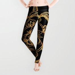 Golden Mandala Leggings