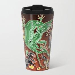 dancing geckos Travel Mug