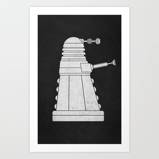 DOCTOR WHO - EXTERMINATE! Art Print