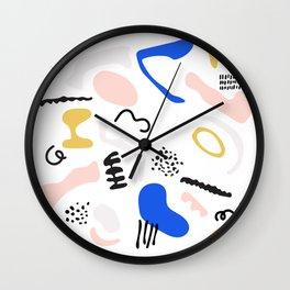 Microscopia Wall Clock