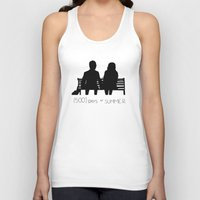 500 days of summer Tank Tops featuring (500) Days of Summer by ☿ cactei ☿
