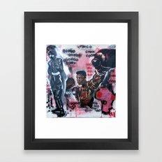 no vietnamese Framed Art Print