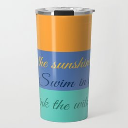 Emerson Knows Summer Travel Mug