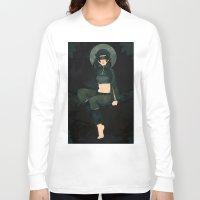 clover Long Sleeve T-shirts featuring Clover by Nano Rain