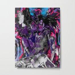 Suffocate Metal Print
