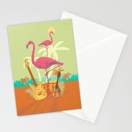 TROPICAL CITY Stationery Cards