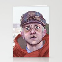 fargo Stationery Cards featuring Lester - Fargo by Charlotte Foley