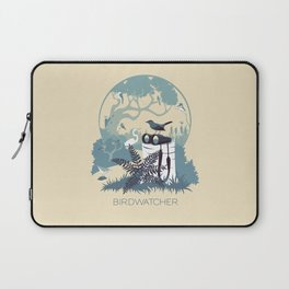 Birdwatcher (blues) Laptop Sleeve