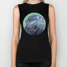 Gramm the Otter Biker Tank