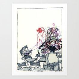 Figure Drawing, 110 Art Print
