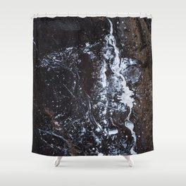 Night Rose Shower Curtain