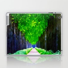 Leaves In The Sky - Painting Style Laptop & iPad Skin