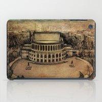 theater iPad Cases featuring Yerevan Opera Theater by Narek Gyulumyan
