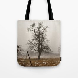 Tree Stands Tall Tote Bag