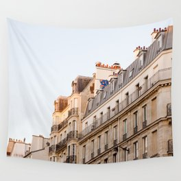 Along the Seine Wall Tapestry