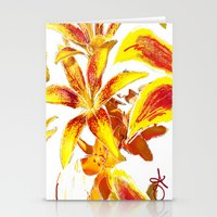 lily Stationery Cards featuring Lily by ANoelleJay