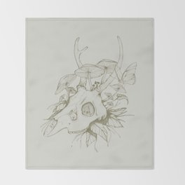 Dead Spring Throw Blanket