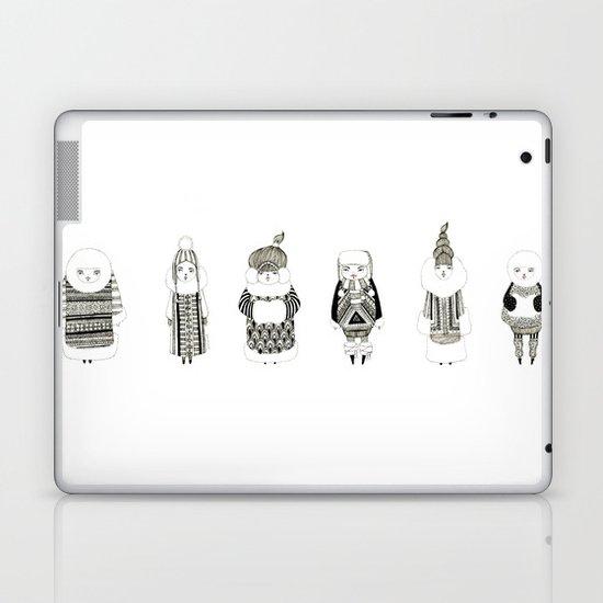 Girls, Girls, Girls. Laptop & iPad Skin