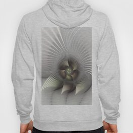 Stand Up, Abstract Fractal Art Hoody