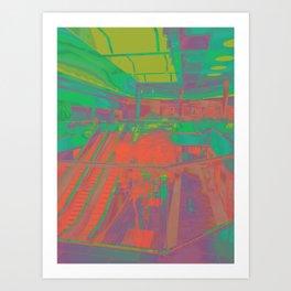 Shopscape 2052 Art Print