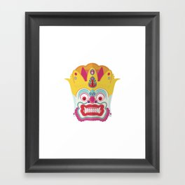 Boo ! Framed Art Print