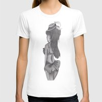 burlesque T-shirts featuring burlesque baby by Scenccentric Creations