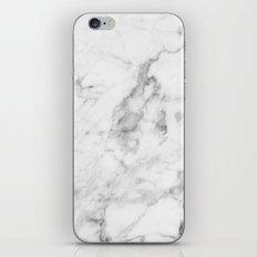 White Marble iPhone & iPod Skin