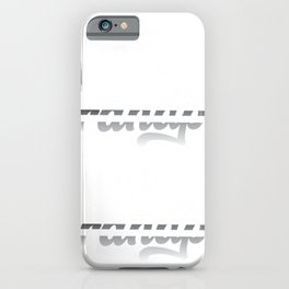 Promoted From Dog Grandpa To Human Grandpa iPhone Case